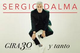 Sergio Dalma llega al Auditórium de Palma con su gira '30… y tanto'