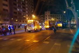 Sigue en estado crítico el hombre atropellado por un autobús en Palma