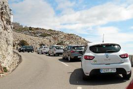 La DGT estudia ampliar las restricciones a toda la carretera de Formentor este verano