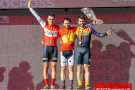 Salmerón, bronce en el nacional Máster 40 de ciclocross de Pontevedra