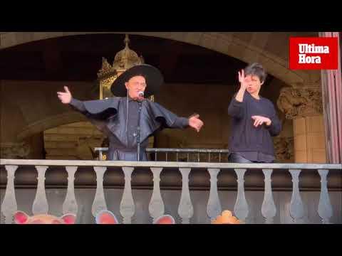 Sant Sebastià 2020 arranca con el desenfadado pregón de Fernando Estrella