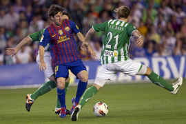 El Betis avisa al Barça antes de la final copera en un choque sin salsa