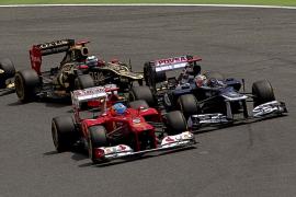 Maldonado gana en Barcelona tras una lucha titánica con Alonso, quien acaba segundo