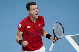 Bautista acerca a España al título de la ATP Cup