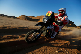 El portugués Paulo Gonçalves fallece en la séptima etapa del rally Dakar