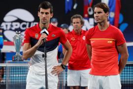 Djokovic deja a España sin título en la ATP Cup