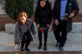 El Govern recupera los restos y homenajea a la víctima del franquismo Juana Baño
