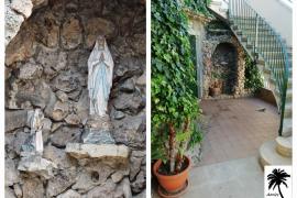 Roban la virgen de Lourdes de la iglesia de s'Arenal