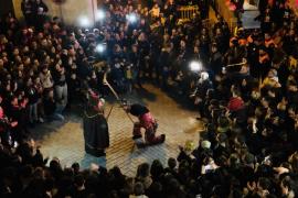 La 'Troncada' y el primer 'Ball del Dimoni' dan inicio a las fiestas de Sant Antoni en Son Servera