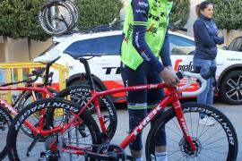 Vincenzo Nibali estrena el maillot del Trek-Segafredo en Mallorca