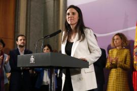 El emotivo y feminista primer discurso de Irene Montero como Ministra de Igualdad