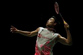 El número uno mundial de badminton resulta herido en un accidente de tráfico