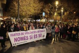 Concentración en Palma por los últimos casos de agresión machista