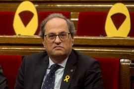 Torra puede seguir como presidente de la Generalitat, según los letrados del Parlament