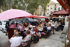 Aplazan la consulta sobre las terrazas de Palma para negociar con Cort