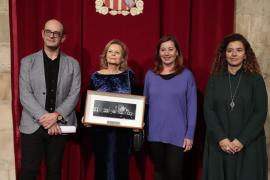 Homenaje a Carme Riera por el 25 aniversario de 'Dins el darrer blau'