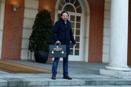La reacción viral de Iglesias a las risas sobre su llegada al consejo de ministros