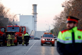El fuego en Tarragona reduce su «peligrosidad» aunque se mantiene la precaución en la zona