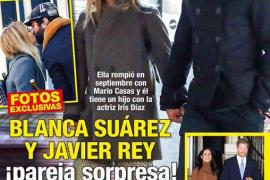 Blanca Suárez y Javier Rey, juntos