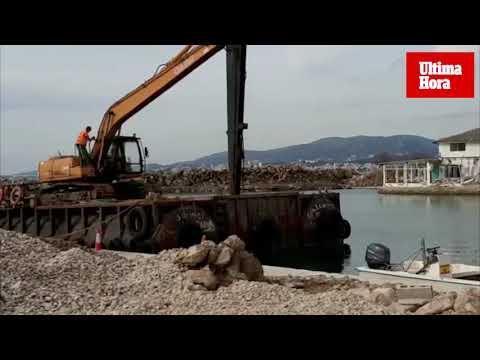 Comienza la demolición de los anexos del Port Marítim del Molinar