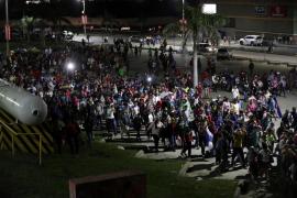 Una nueva caravana de migrantes parte desde Honduras con destino a EEUU