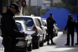 Una discusión sobre qué ver en la televisión acaba con un hombre detenido en Palma por violencia de género