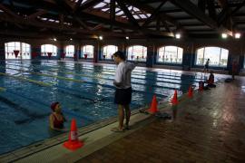 La piscina del polideportivo Germans Escalas volverá a abrirse este viernes