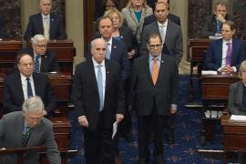 El Senado inicia el 'impeachment' contra Trump