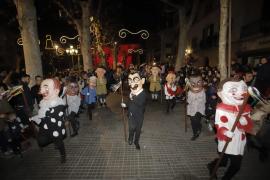 Así se ha vivido Mallorca la víspera de Sant Antoni 2020