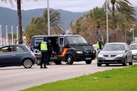 Juicio por conducir sin carnet y forcejear con uno de los policías que le dio el alto en Palma