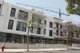Los pisos visados suben un 60 % y superan por segundo año a los unifamiliares en Mallorca