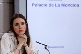 Irene Montero rectifica y habla de «Consejo de Ministros y Ministras»