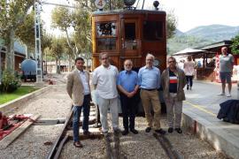 El tren de Sóller ingresa en la Federación europea de Ferrocarriles Históricos