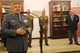 Inaugurada la exposición en Palma por el 175 aniversario de la Guardia Civil