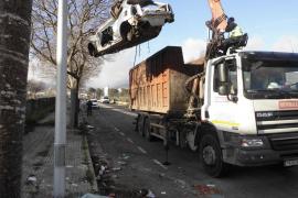 El Ayuntamiento de Palma retira 26 vehículos abandonados