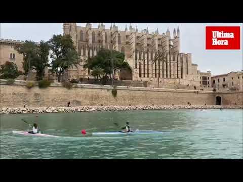 El Parc de la Mar, escenario del XXXV Trofeo Sant Sebastià de Piragüismo