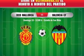 Así hemos vivido el Real Mallorca-Valencia