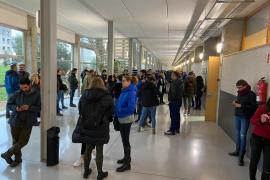 Casi 2.600 personas de Baleares se examinan por una plaza en Correos