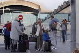 Varios vuelos de Palma afectados por el cierre del aeropuerto de Alicante