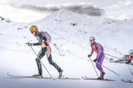 Pere Rullan, plata en la Copa de España de Esquí de Montaña