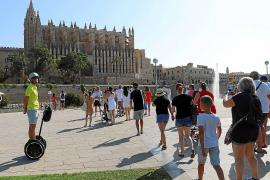 Cort distribuirá la entrada a la ciudad de los turistas alojados fuera de Palma
