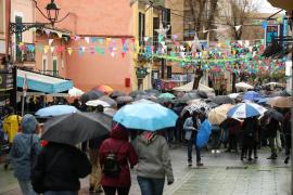 Lunes de lluvia y fuertes rachas de viento en Baleares por el paso de Gloria