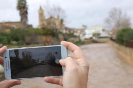 Chubascos fuertes, subida de temperaturas y fuertes vientos este martes en Baleares