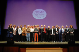 La entrega de los Premis Ciutat de Palma, ágil y muy musical