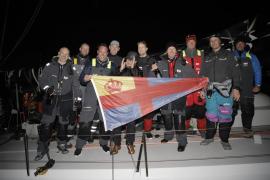 Récord del velero Trifork: 13:15:17 en dar la 'Vuelta a Mallorca'