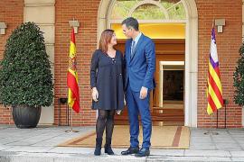 Armengol escribe a Sánchez y le pide una reunión