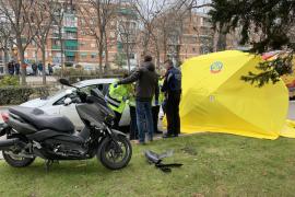 Un motorista muere al chocar contra varios vehículos parados en un semáforo