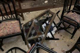 El Bisbat restaurará el rosetón de la iglesia de sa Pobla que cayó durante el temporal