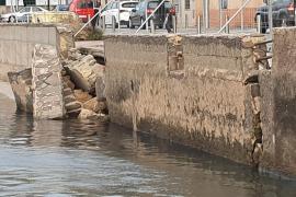 El Ajuntament requiere a Costas el pago de 185.000 euros por la reparación del muro de Cala Gamba