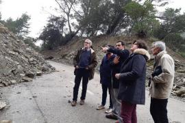 El Consell restituirá el tráfico «pronto pero con seguridad» entre Alaró y Orient